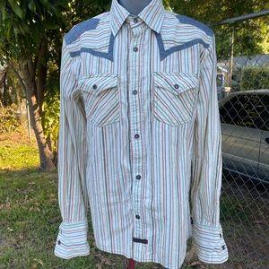 Fender Bottom Down Shirt Size S